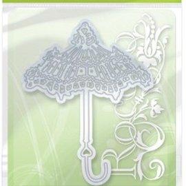 Tonic Studio´s Punching and embossing template: nostalgic umbrella