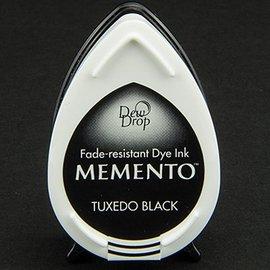 FARBE / STEMPELKISSEN dewdrops MEMENTO timbre encre InkPad Tuxedo Noir