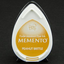 FARBE / STEMPELKISSEN las gotas de rocío MEMENTO sello de tinta InkPad-frágil de cacahuete