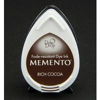 gocce di rugiada MEMENTO timbro a inchiostro InkPad-Potters Rich cacao