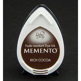 FARBE / STEMPELKISSEN las gotas de rocío MEMENTO sello de tinta InkPad-Potter cacao rico