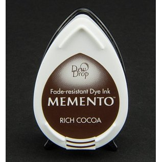 FARBE / STEMPELKISSEN MEMENTO DewDrops Stempeltinte, InkPad-Potters Rich Cocoa
