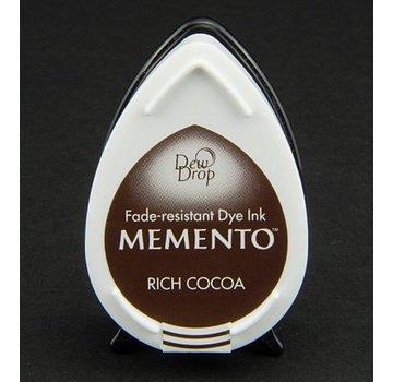 FARBE / STEMPELKISSEN gocce di rugiada MEMENTO timbro a inchiostro InkPad-Potters Rich cacao