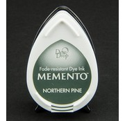 MEMENTO dewdrops stamp ink InkPad-Potters Northern Pine