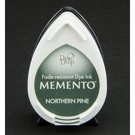dewdrops MEMENTO timbre encre InkPad-Potters Northern Pine