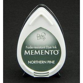 las gotas de rocío MEMENTO sello de tinta InkPad-Potter Northern Pine