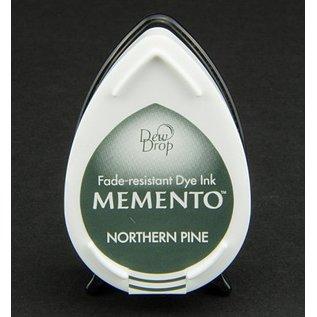 MEMENTO dauwdruppels stempel inkt Inkpad-Potters Northern Pine