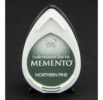 MEMENTO dewdrops stamp ink InkPad-Potters Northern Pine