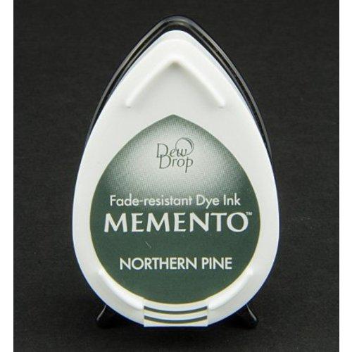 MEMENTO DewDrops Stempeltinte, InkPad-Potters Northern Pine