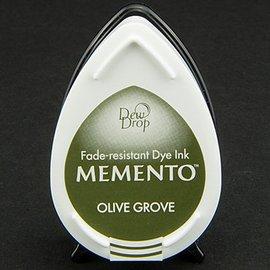 FARBE / STEMPELKISSEN las gotas de rocío MEMENTO sello de tinta de oliva InkPad Grov
