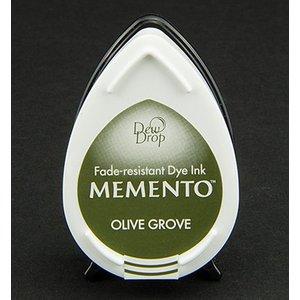 FARBE / STEMPELKISSEN MEMENTO dauwdruppels stempel inkt Inkpad Olive Grov