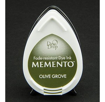 FARBE / STEMPELKISSEN gocce di rugiada MEMENTO timbro a inchiostro InkPad Olive Grov