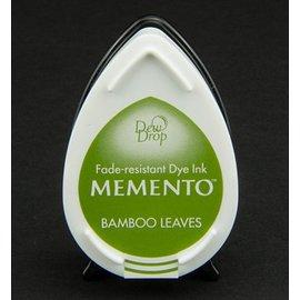 dewdrops MEMENTO timbre encre InkPad-feuilles de bambou