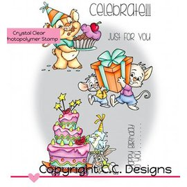 C.C.Designs sellos transparentes, Rascals de Roberto Celebre