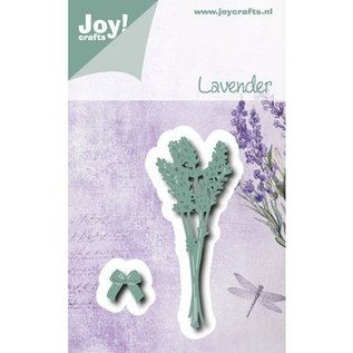 Joy!Crafts / Jeanine´s Art, Hobby Solutions Dies /  Punching and embossing template: Lavender
