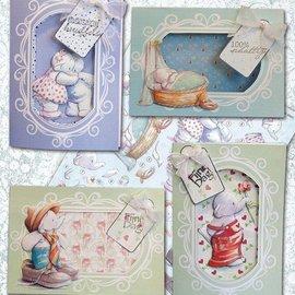BASTELSETS / CRAFT KITS Komplettes Karten Bastelset, für viele Anlässe
