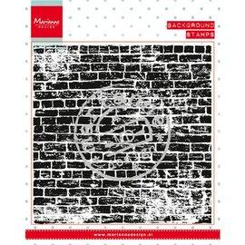 Marianne Design Gjennomsiktige stempler: bakgrunnen steiner veggen