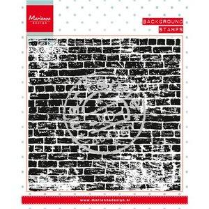 Marianne Design Transparent Stempel: Hintergund Steinen Mauer -LETZTE VERFÜGBAR
