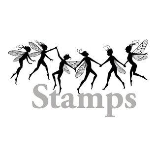 Stempel / Stamp: Transparent Transparant stempel: feeën