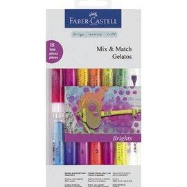 FARBE / STEMPELKISSEN Gelato Set con 12 colori + 1 + 2 pennello spugna