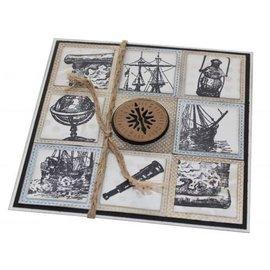 VIVA DEKOR (MY PAPERWORLD) Transparent Stamp: Livet er en reise