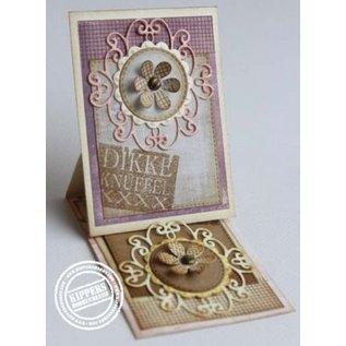 Joy!Crafts / Jeanine´s Art, Hobby Solutions Dies /  Ponsen en embossing sjabloon: krullend round Mery