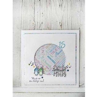 Marianne Design Transparent stamp: Peep chicks
