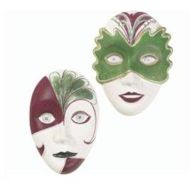 GIESSFORM / MOLDS ACCESOIRES Gießform: 2 Masken