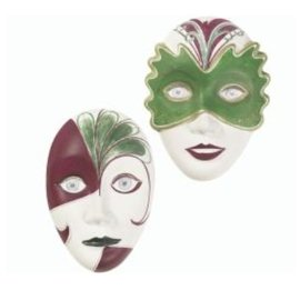 Modellieren Mold: 2 maskers