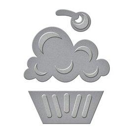 Spellbinders und Rayher Punzonatura e goffratura modello: Cupcake