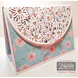Die'sire Ponsen en embossing sjabloon: Spring Garden Bloemen