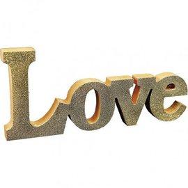 Objekten zum Dekorieren / objects for decorating Dekorationswort: LOVE