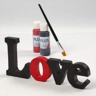 Objekten zum Dekorieren / objects for decorating Decoratie woord: LOVE