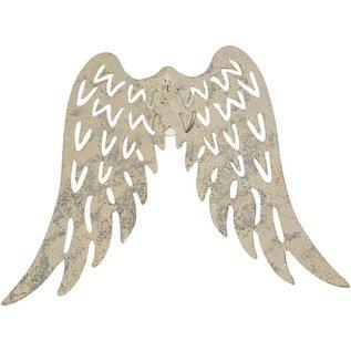 Embellishments / Verzierungen Wing, B: 7.5 cm, 1 piece