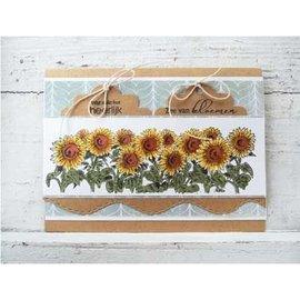 Marianne Design Transparent Stamp: Sunflowers