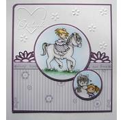 Joy!Crafts / Jeanine´s Art, Hobby Solutions Dies /  Transparent stempel: My Little Horse