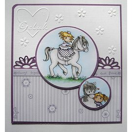 Joy!Crafts / Jeanine´s Art, Hobby Solutions Dies /  timbre Transparent: Mon petit cheval