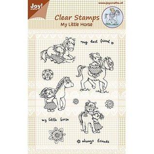 Joy!Crafts / Jeanine´s Art, Hobby Solutions Dies /  Transparant stempel: My Little Horse