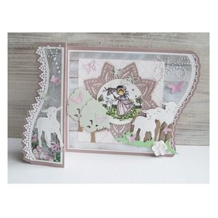 Marianne Design Stamping and embossing stencil: border Set