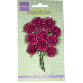 Marianne Design Flor de papel, claveles - rosa medio