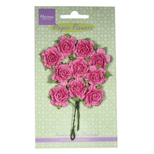 Marianne Design Bloem van het document, Anjers, helder roze