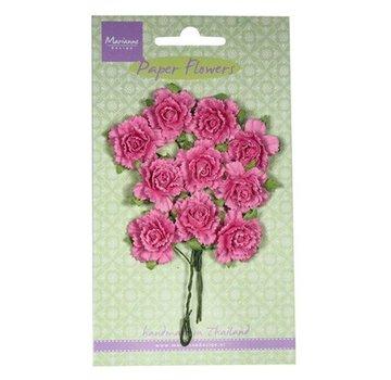 Marianne Design Paper Flower, Carnations, hell pink