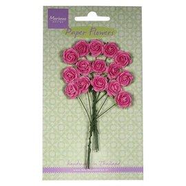 Marianne Design Paper Flower, roser, rosa