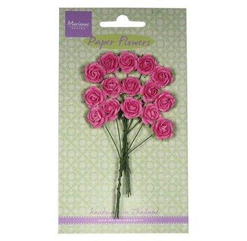 Marianne Design Paper Flower, roser, lyserød