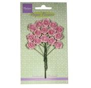 Marianne Design Paper Flower, Rosen, hell pink
