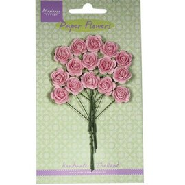 Marianne Design Paper Flower, roses, bright pink