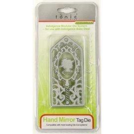 Tonic Studio´s Stanz- und Prägeschablone: Hand Mirror Tag