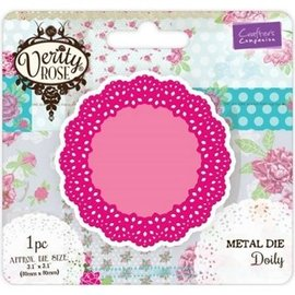 Die'sire Punching and embossing Template: Intricate Doily