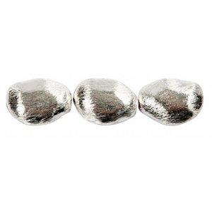 Schmuck Gestalten / Jewellery art 3 kralen brok, afmeting 20x15x8 mm