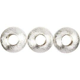 Schmuck Gestalten / Jewellery art 4 Exclusieve Pearl, Cirkel, afmeting 17x17x5 mm
